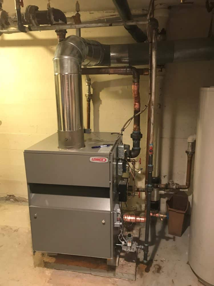 Robinson Heating & Cooling Boiler Install